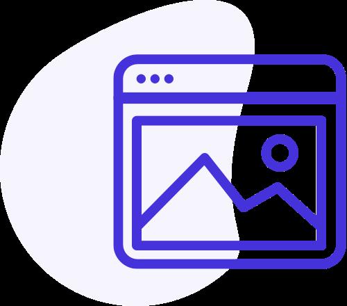 icone création de site internet